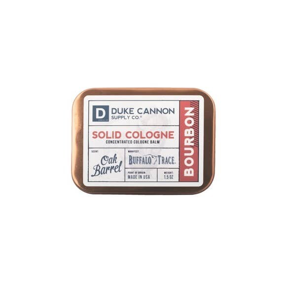 Traveling Man Solid Cologne Bourbon