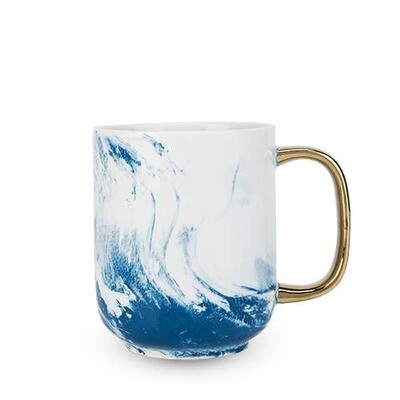Seaside Marbled Ceramic Mug
