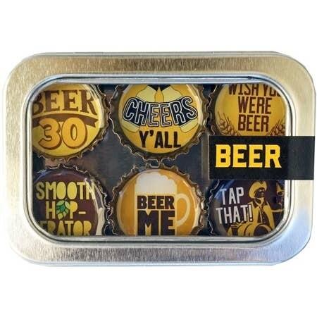 Wisconsin Proud Designer Bottle Cap Magnets Beer