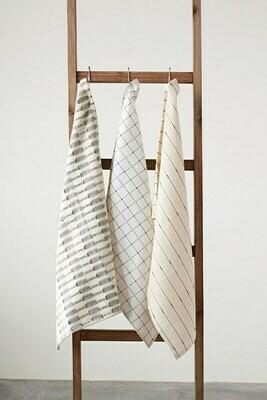Woven & Stripe Tea Towel Set