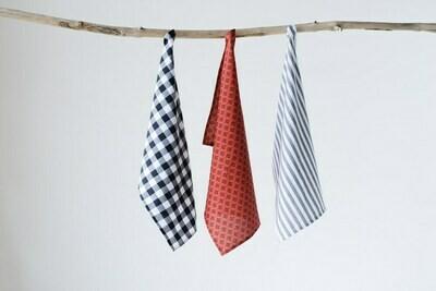 Urban Homestead Cotton Tea Towel Set Of 3