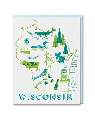 Wisconsin State Love Box Card Set
