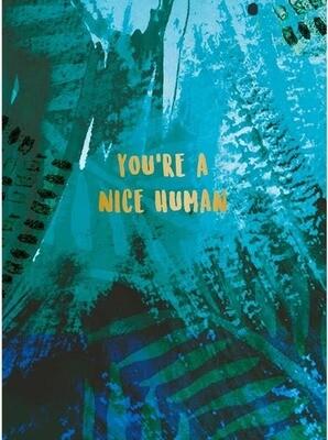 Nice Human Card