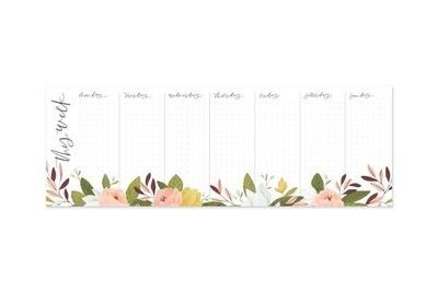 Ambrose Weekly Notepad