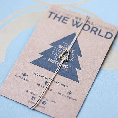 Tree Wish Conservation Bracelet