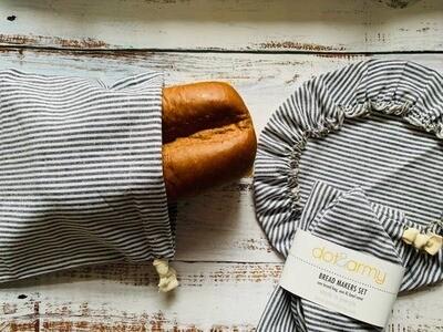Bread Bag & Bowl Cover Set
