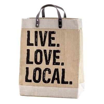 Live. Love. Local. Market Tote