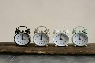 Mini Vintage Alarm Clock