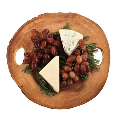 Wood Slice Cheese Board