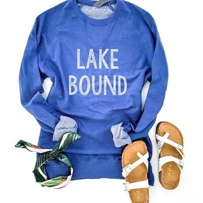 Lake Bound Raglan Sweatshirt