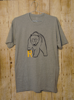 Bear Logo T-Shirt Youth 2 Colors Available
