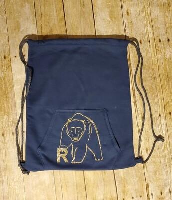 Cinch Bag-Sweatshirt