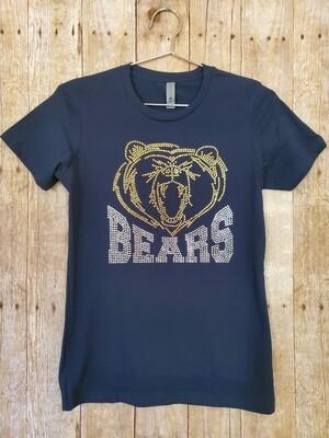Adult Rhinestone Bears Shirt 2 color options