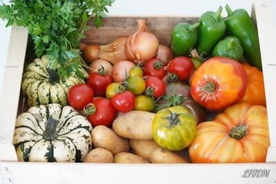 Panier de légumes Bio à 15€ semaine 44