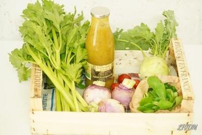 Panier de légumes Bio à 10€ semaine 44