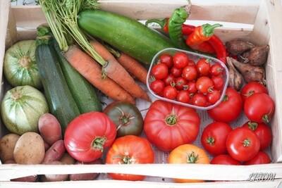 Panier de légumes Bio à 20€ semaine 31