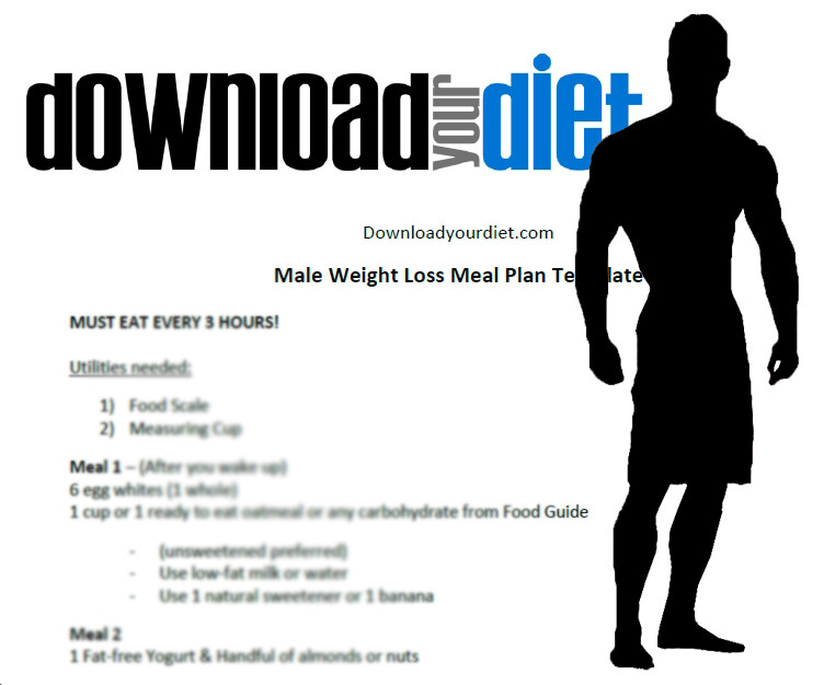 MALE WEIGHT LOSS + WORKOUT GUIDE