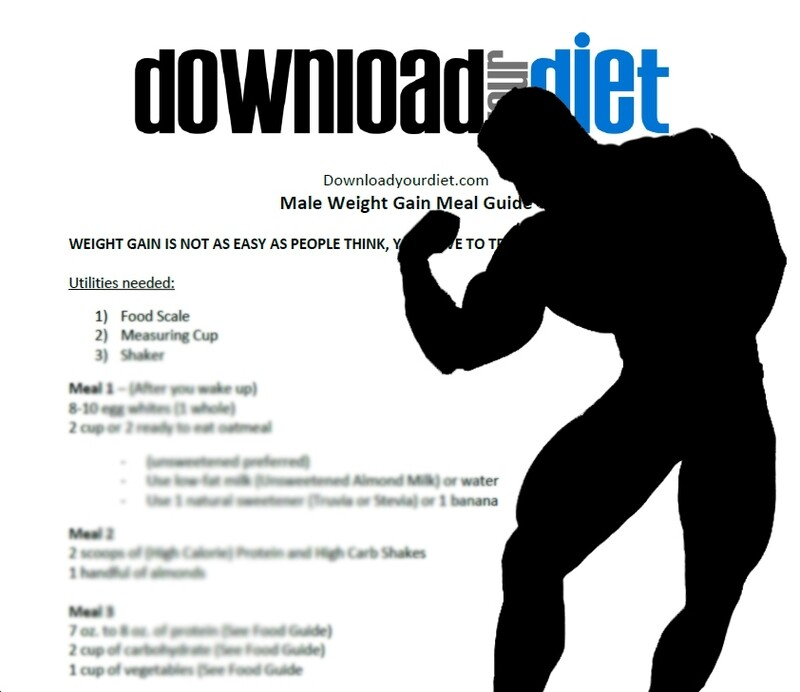 MALE WEIGHT GAIN + WORKOUT GUIDE
