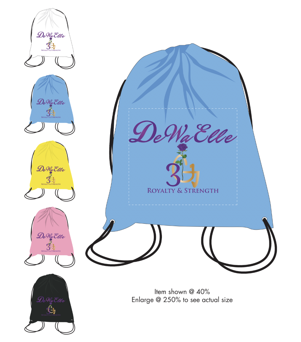 DeWaElle Drawstring Bags