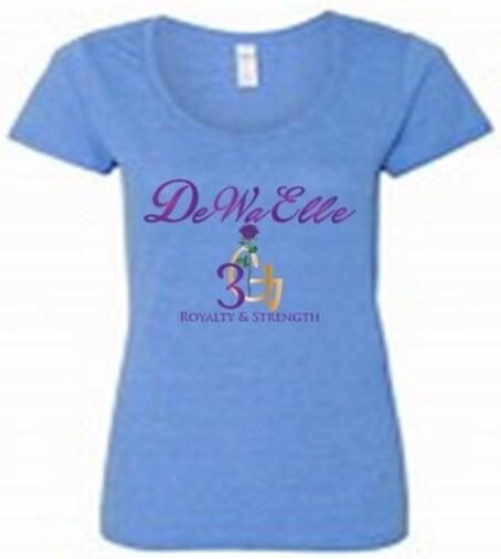 Ladies Scoop Neck T-Shirts