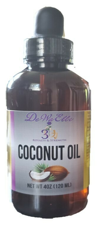 Coconut Oil (Not To Be Taken Orally)
