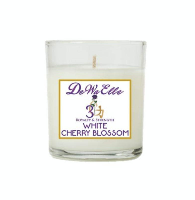 White Cherry Blossom - 3.5 Ounces Soy Wax Candles