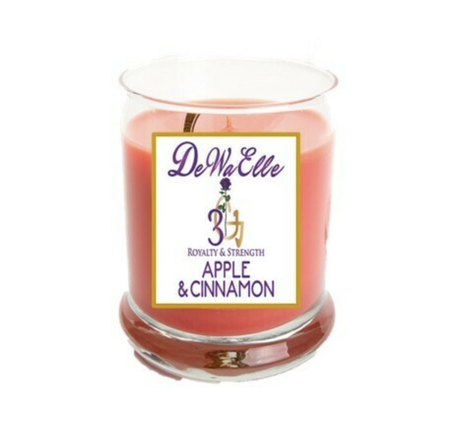 Apple &  Cinnamon - 3.5 Ounces Soy Wax Candles