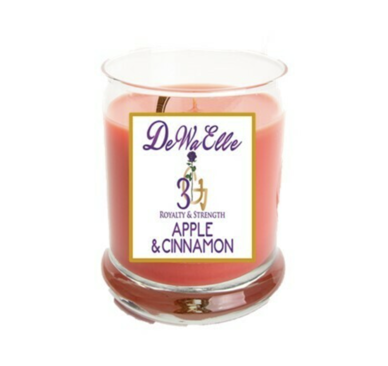 Apple &  Cinnamon - 3.5 Ounces Soy Wax Candles