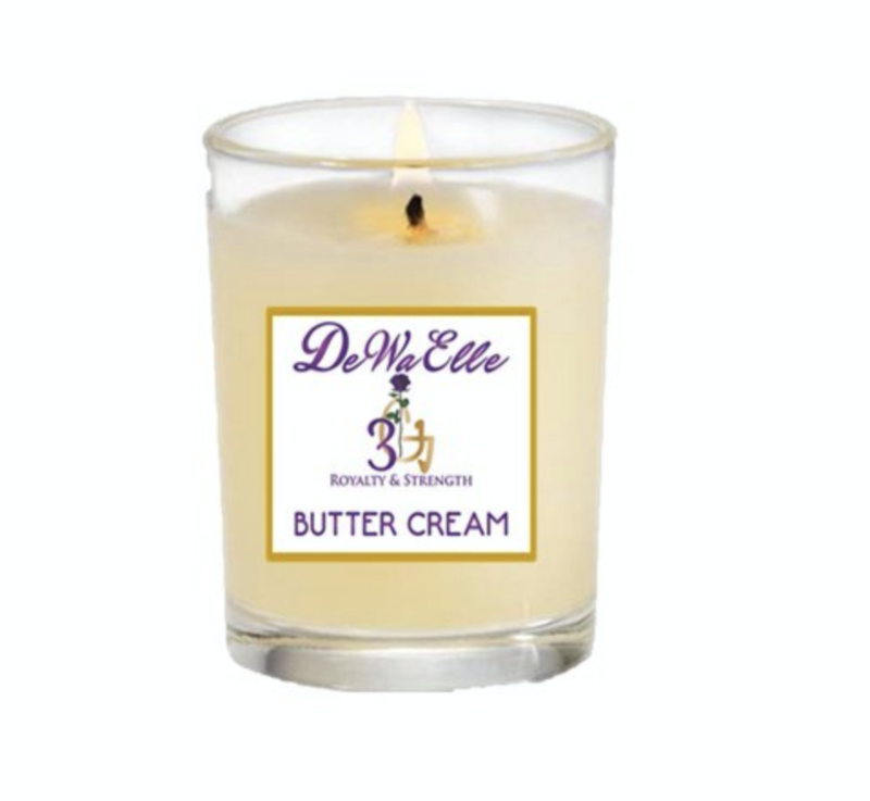 Butter Cream - 3.5 Ounces Soy Wax Candles