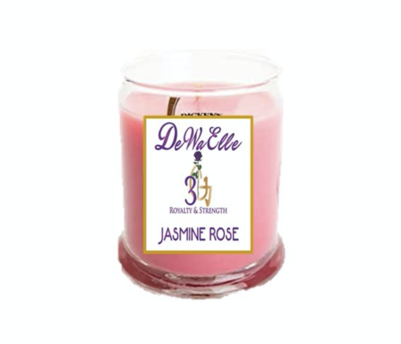 Jasmine Rose - 3.5 Ounces Soy Wax Candles