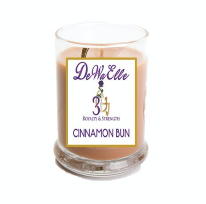 Cinnamon Bun - 3.5 Ounces Soy Wax Candles