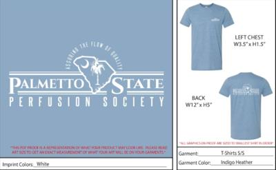 Blue Grey Shirts w/ Logo