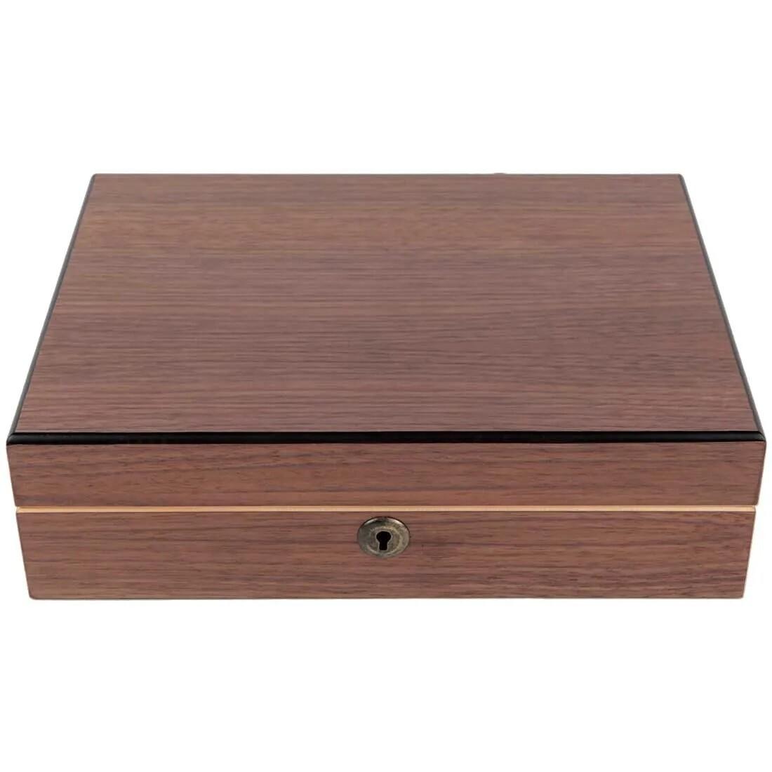 מארז מהודר עשוי עץ מלא עם תאי חלוקה וקופסא לאיסוף אבקנים RYOT