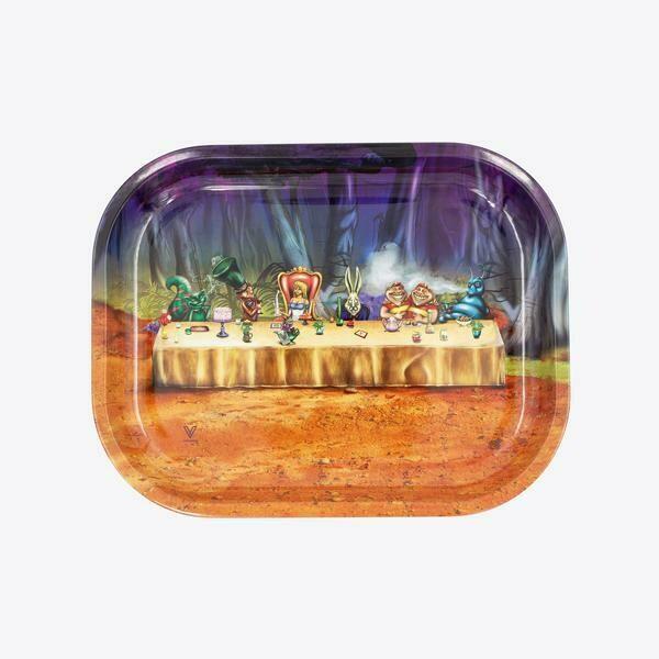 V Syndicate Alice Table מגש גלגול מתכתי קטן\בנוני\גדול דגם