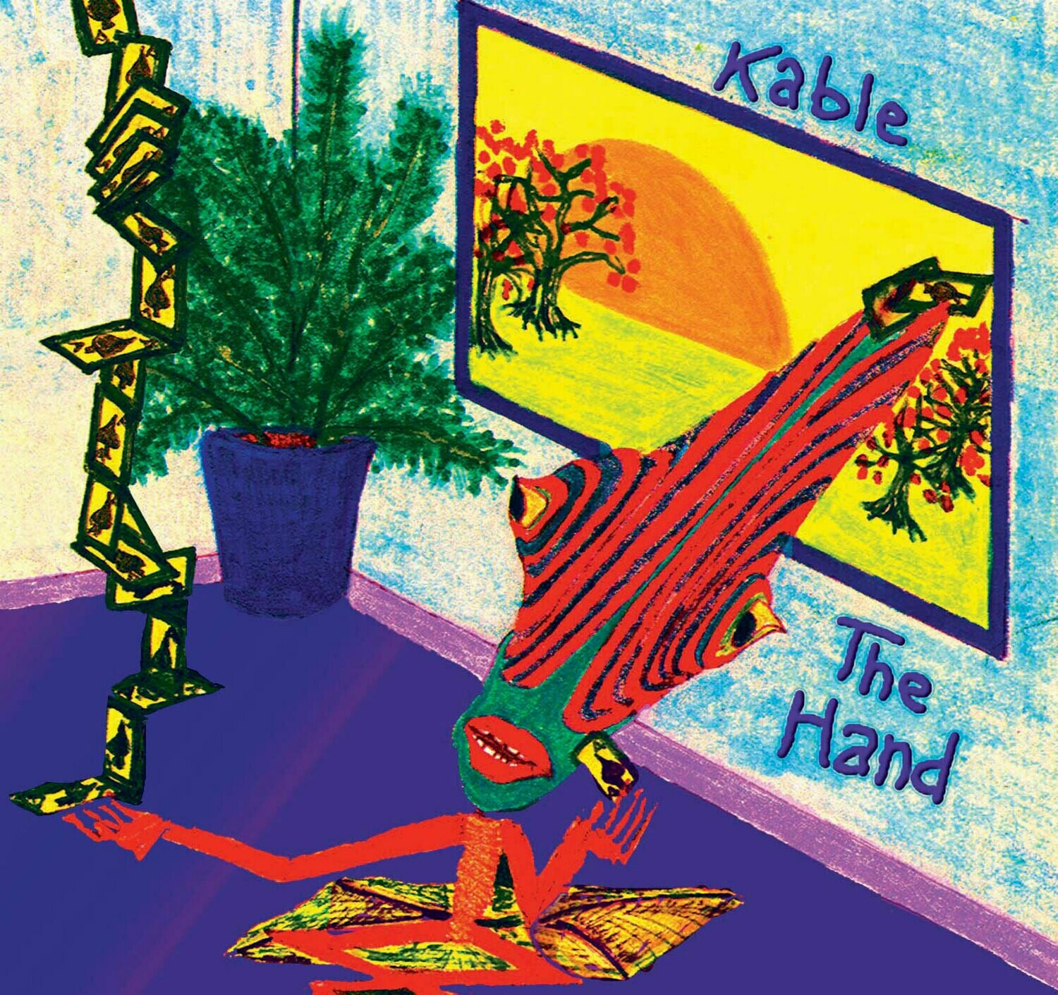"Kable CD  ""The Hand""---------free shipping in Continental US"