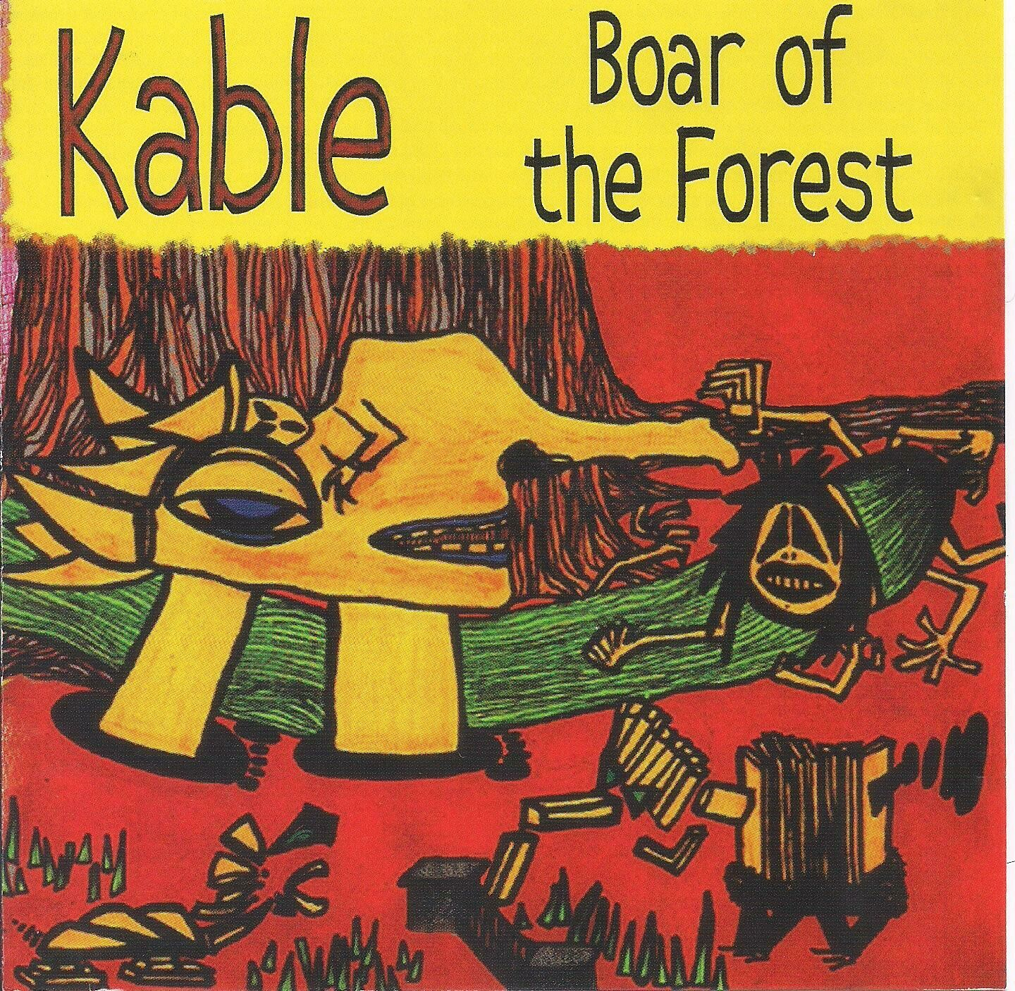 """Kable CD """"Boar of the Forest""""---------free shipping in Continental US"""