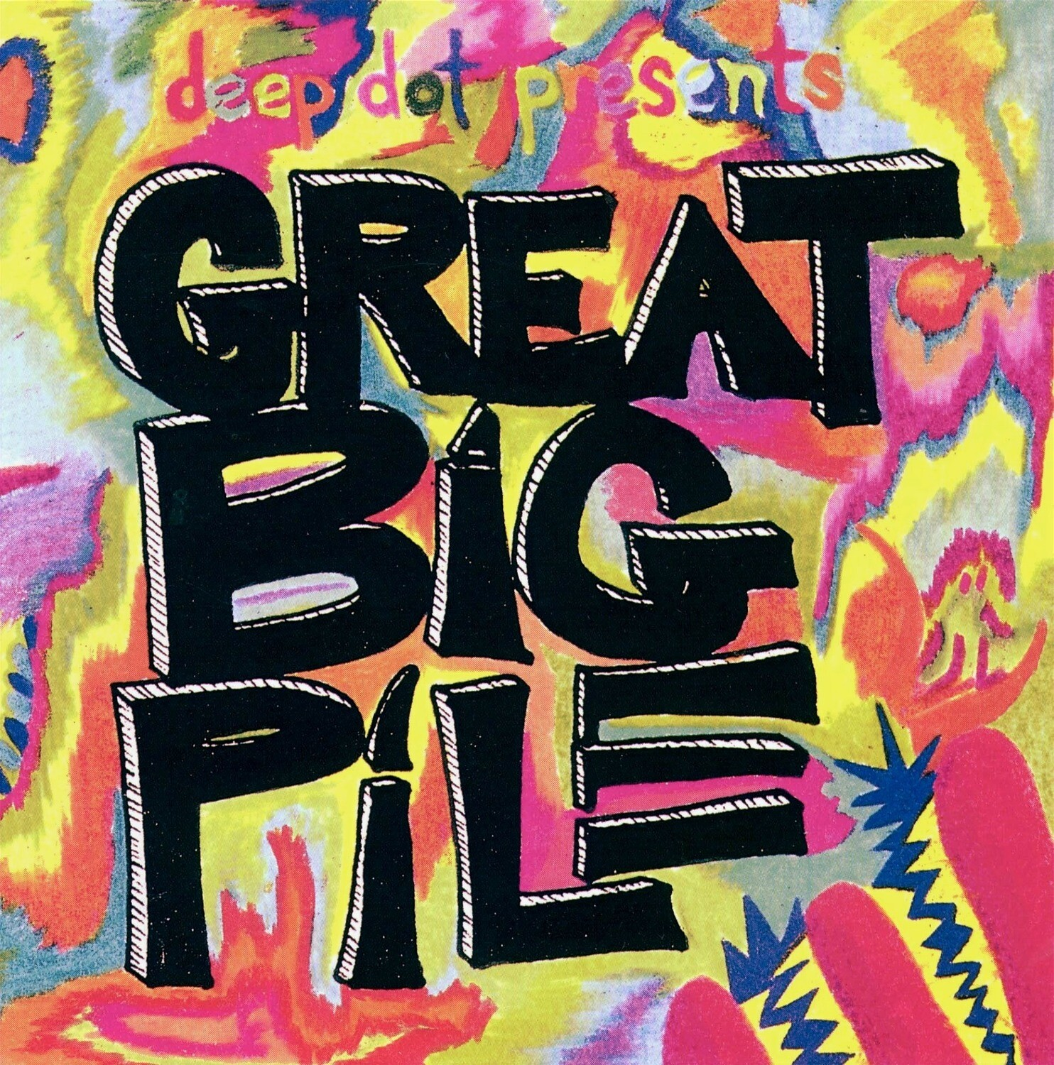 The Great Big Pile Compilation CD 1992