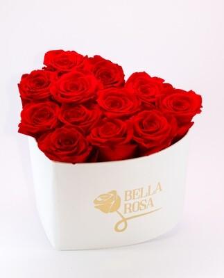 Arreglo Rosas Rojas en Forma de Corazón