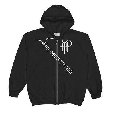 PRE-MEDITATED Zip-up Hoodie