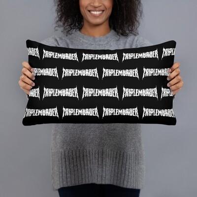 TripleMurder Logo Pillow