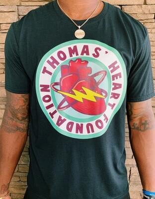 Thomas Heart Full Shirt Logo - Black