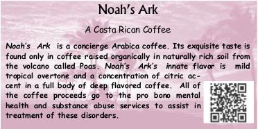 Noah's Ark Coffee