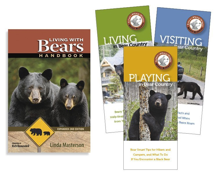 Combo: Living With Bears Handbook & 3 Pocket Guides