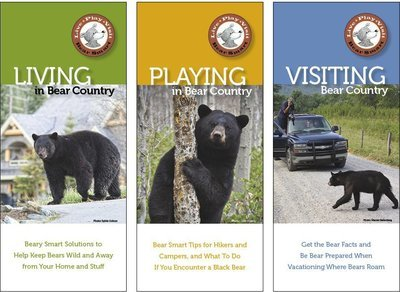 Bear Smart Pocket Guides (individual)
