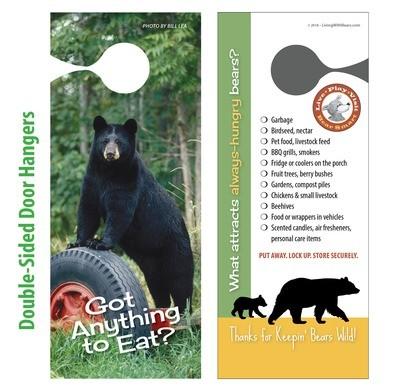 Bear Smart Door Hangers