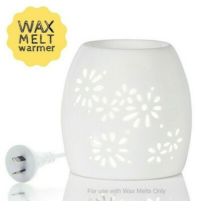 White Light Ceramic Wax Warmer