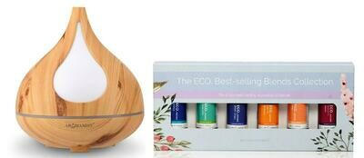 Beech Diffuser & Best Selling Blends Starter Pack
