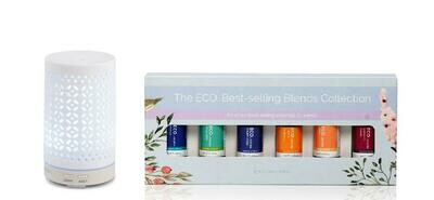 Mistique Diffuser & ECO. Best Selling Blends Starter Pack