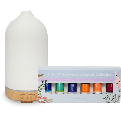Noosa Mist Diffuser & ECO. Best Selling Blends