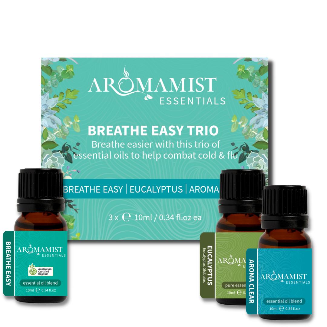 Breathe Easy Trio (Breathe Easy Blend, Eucalyptus, Aroma Clear Blend)